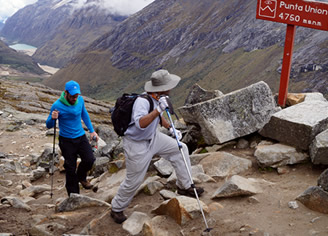 trekking tour in the Cordillera Blanca